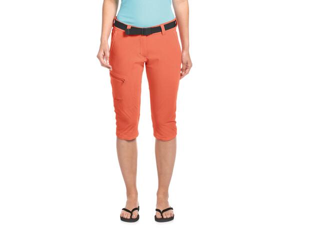 Maier Sports Inara Slim 3/4 Pants Women, nasturtium